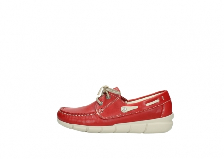 wolky lace up shoes 01509 cahita 70570 red summer leather_1