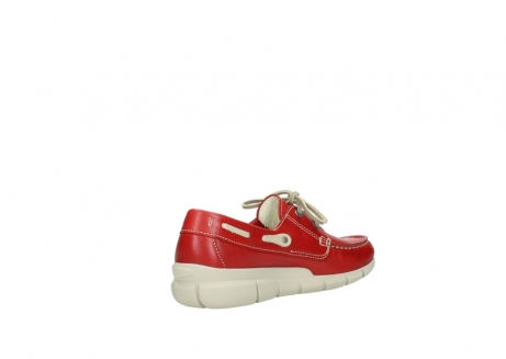 wolky lace up shoes 01509 cahita 70570 red summer leather_10