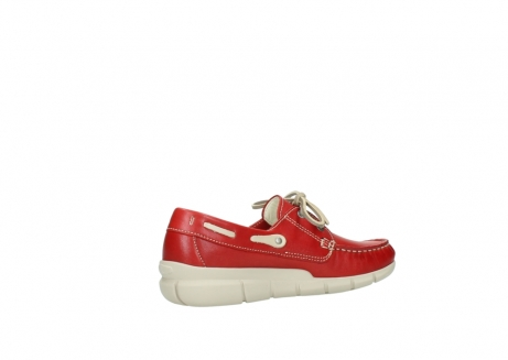 wolky lace up shoes 01509 cahita 70570 red summer leather_11