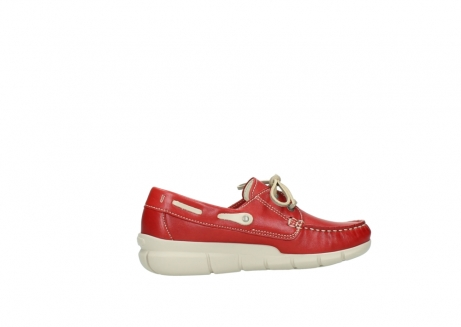 wolky lace up shoes 01509 cahita 70570 red summer leather_12
