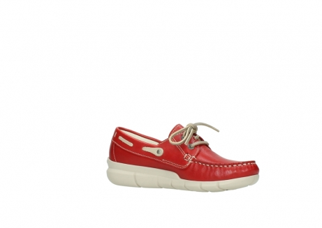wolky lace up shoes 01509 cahita 70570 red summer leather_15
