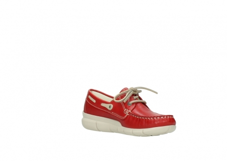 wolky lace up shoes 01509 cahita 70570 red summer leather_16