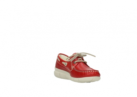 wolky lace up shoes 01509 cahita 70570 red summer leather_17