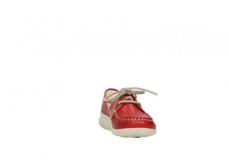 wolky lace up shoes 01509 cahita 70570 red summer leather_18