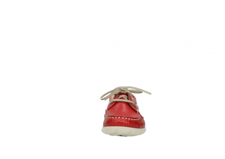 wolky lace up shoes 01509 cahita 70570 red summer leather_19