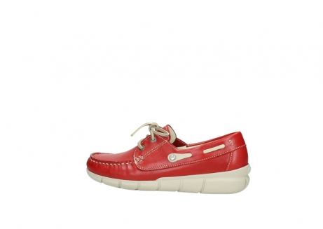 wolky lace up shoes 01509 cahita 70570 red summer leather_2
