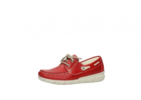 wolky lace up shoes 01509 cahita 70570 red summer leather_23