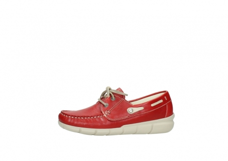 wolky lace up shoes 01509 cahita 70570 red summer leather_24