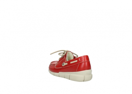 wolky lace up shoes 01509 cahita 70570 red summer leather_5