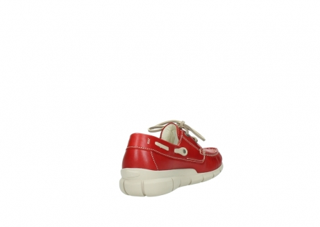 wolky lace up shoes 01509 cahita 70570 red summer leather_9