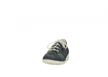 wolky lace up shoes 01510 pima 10070 black summer nubuck_20