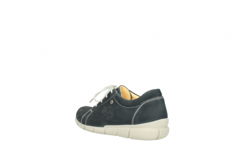 wolky lace up shoes 01510 pima 10070 black summer nubuck_4
