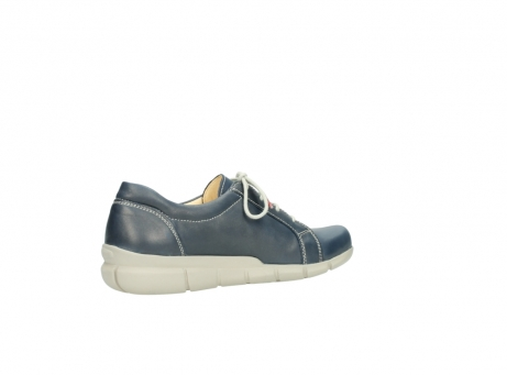 wolky lace up shoes 01510 pima 80800 blue leather_11