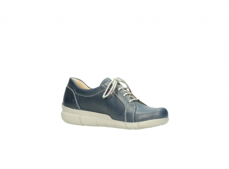 wolky lace up shoes 01510 pima 80800 blue leather_15