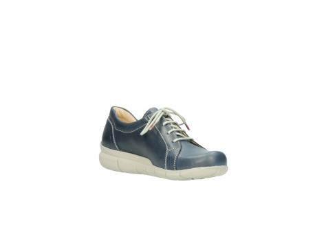 wolky lace up shoes 01510 pima 80800 blue leather_16