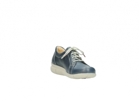wolky lace up shoes 01510 pima 80800 blue leather_17