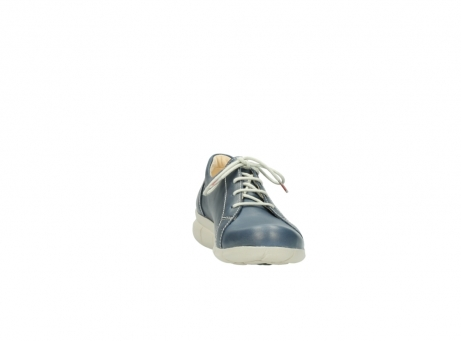 wolky lace up shoes 01510 pima 80800 blue leather_18