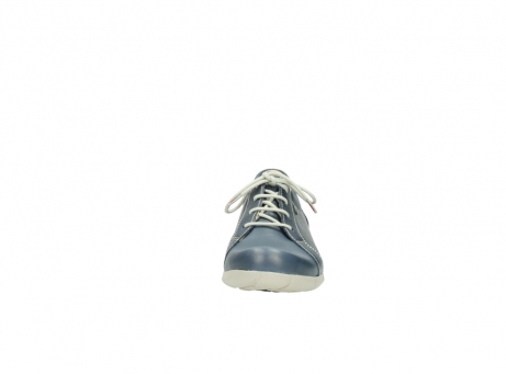 wolky lace up shoes 01510 pima 80800 blue leather_19