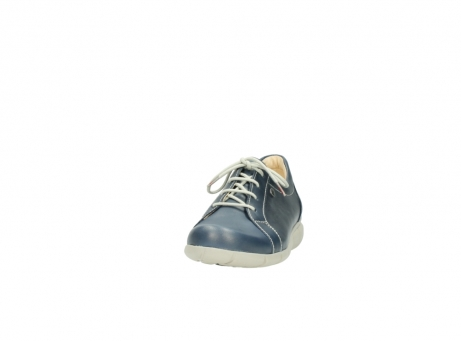 wolky lace up shoes 01510 pima 80800 blue leather_20
