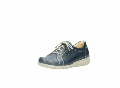 wolky lace up shoes 01510 pima 80800 blue leather_22