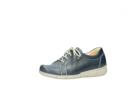 wolky lace up shoes 01510 pima 80800 blue leather_23