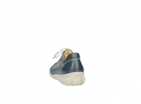wolky lace up shoes 01510 pima 80800 blue leather_6