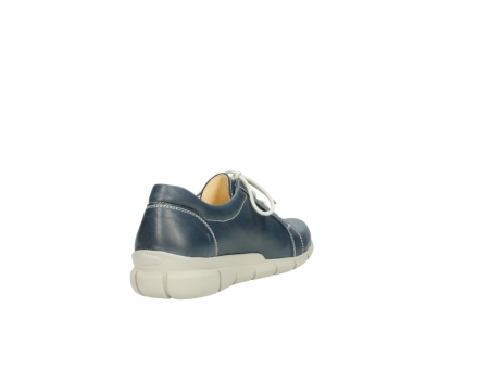 wolky lace up shoes 01510 pima 80800 blue leather_9