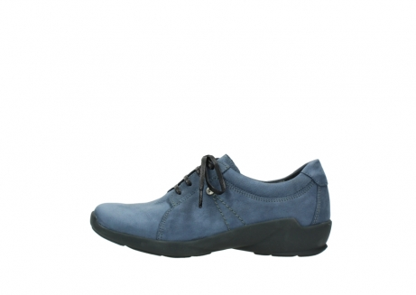 wolky chaussures a lacets 01570 sena 10800 nubuck bleu_1