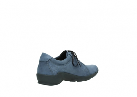 wolky chaussures a lacets 01570 sena 10800 nubuck bleu_10
