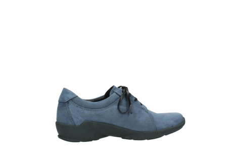 wolky chaussures a lacets 01570 sena 10800 nubuck bleu_12