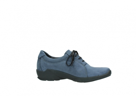 wolky chaussures a lacets 01570 sena 10800 nubuck bleu_14