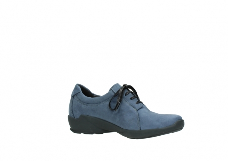 wolky chaussures a lacets 01570 sena 10800 nubuck bleu_15