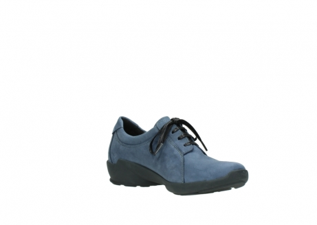 wolky chaussures a lacets 01570 sena 10800 nubuck bleu_16