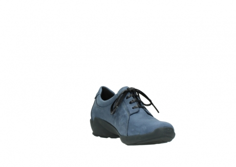 wolky chaussures a lacets 01570 sena 10800 nubuck bleu_17