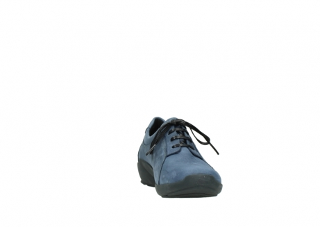 wolky chaussures a lacets 01570 sena 10800 nubuck bleu_18