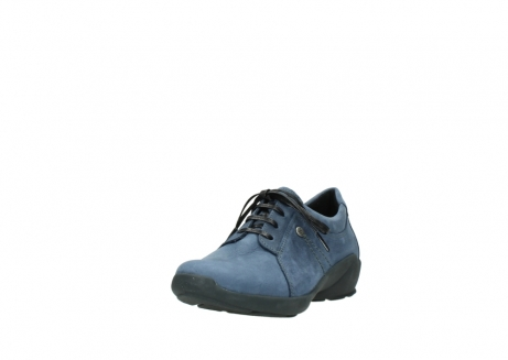 wolky chaussures a lacets 01570 sena 10800 nubuck bleu_21