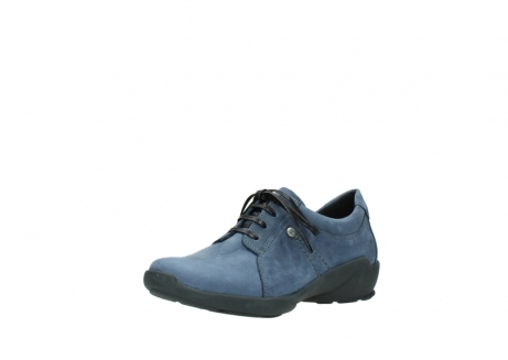 wolky chaussures a lacets 01570 sena 10800 nubuck bleu_22