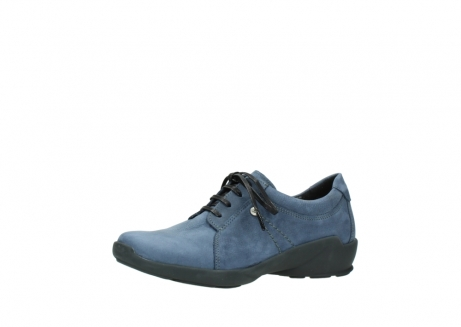 wolky chaussures a lacets 01570 sena 10800 nubuck bleu_23