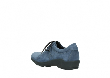 wolky chaussures a lacets 01570 sena 10800 nubuck bleu_4