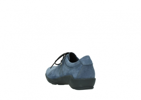 wolky chaussures a lacets 01570 sena 10800 nubuck bleu_5