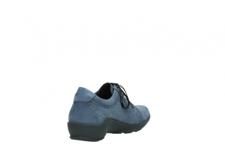 wolky chaussures a lacets 01570 sena 10800 nubuck bleu_9