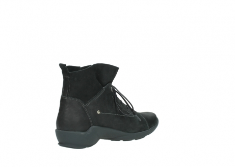 wolky lace up shoes 01574 bello 10000 black nubuck_10