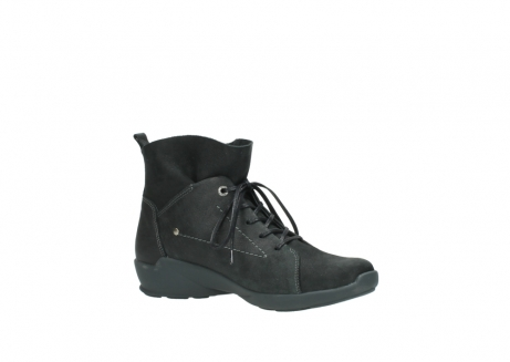wolky lace up shoes 01574 bello 10000 black nubuck_15