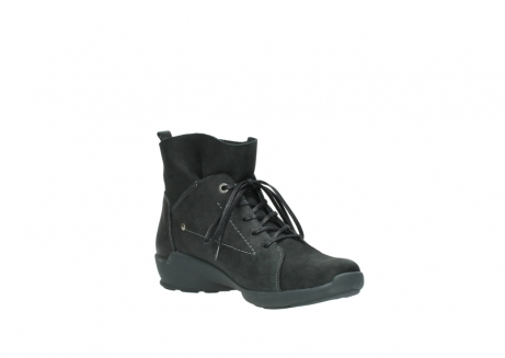 wolky lace up shoes 01574 bello 10000 black nubuck_16