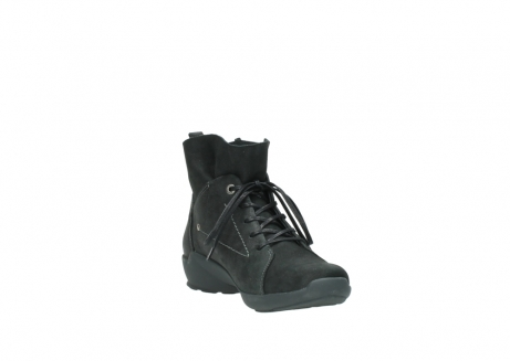 wolky lace up shoes 01574 bello 10000 black nubuck_17