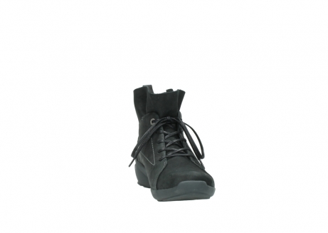 wolky lace up shoes 01574 bello 10000 black nubuck_18