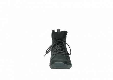 wolky lace up shoes 01574 bello 10000 black nubuck_19