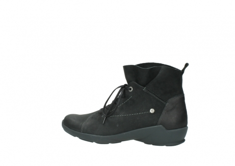 wolky lace up shoes 01574 bello 10000 black nubuck_2