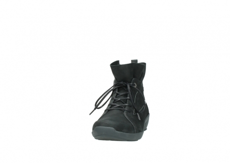 wolky lace up shoes 01574 bello 10000 black nubuck_20
