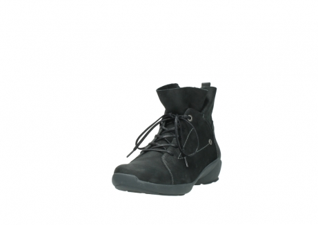 wolky lace up shoes 01574 bello 10000 black nubuck_21